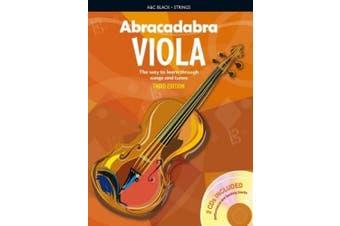 Abracadabra Strings - Abracadabra Viola (Pupil's book + 2 CDs): The way to learn through songs and tunes (Abracadabra Strings)