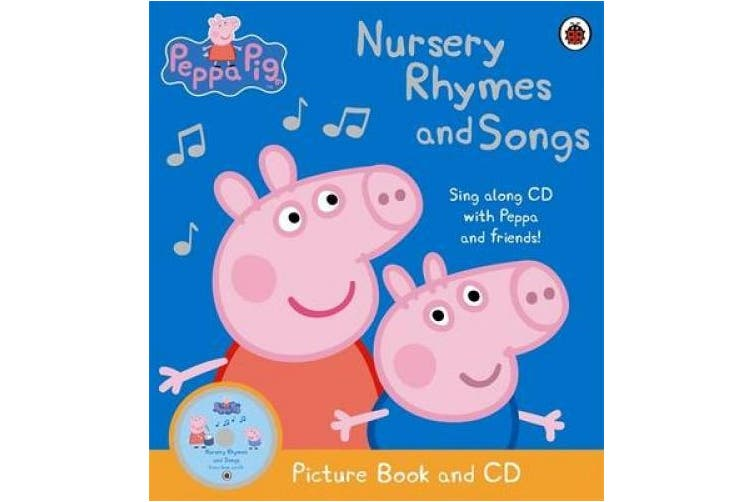 Peppa Pig: Nursery Rhymes and Songs: Picture Book and CD (Peppa Pig)