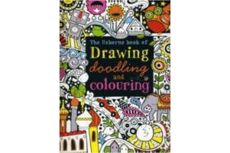 Drawing, Doodling and Colouring Book (Usborne Drawing, Doodling and Colouring)