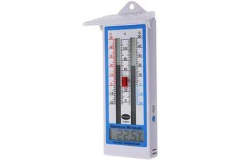 Brannan Max Min Thermometer - Indoor Outdoor Garden Greenhouse Wall