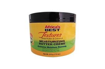 Africa's Best Textures Shea Butter & Coconut Moisturising Butter Creme 220ml