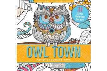 Owl Town Adult Colouring Book (31 stress-relieving designs) (Studio Series)