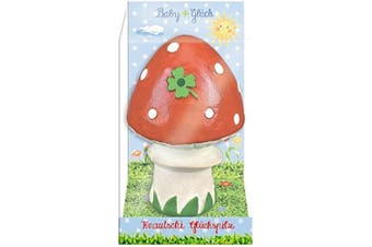 Baby Charms Mushroom Rubber Toy with Sound, 10 x 7 cm, Model# 11885