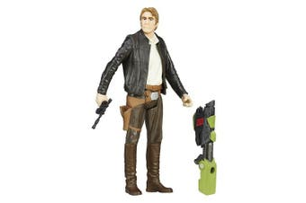STAR WARS B5666ES00 The Force Awakens Jungle Mission Han Solo Action Figure