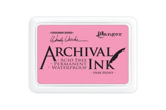 (Pink Peony) - Ranger Wendy Vecchi Designer Series Archival Ink Pad, Pink Peony