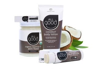 (Coconut Collection) - All Good Coconut Collection - Lip Balm - Lotion - Skin Food - Sunstick