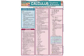 Calculus Equations and Answers: Reference Guide