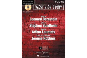 West Side Story Play-along: Solo Arrangements of 10 Songs with CD Accompaniment - Flute
