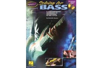 Musicians Institute Soloing For Bass Guitar With Tab Book/Cd
