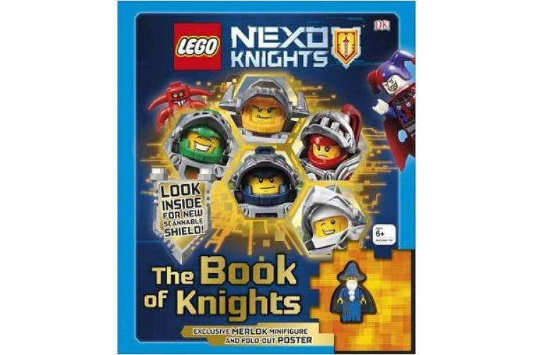 LEGO NEXO KNIGHTS The Book of Knights: Includes Exclusive Merlok Minifigure