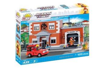 COBI 1475 City Fire Department Building Block