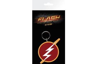 "GB Eye ""The Flash, Logo"" Key Ring, Multi-Colour"