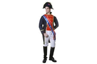 (Men:  Large) - Dress up America Realistic Napoleon Costume Set (L)