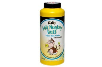 Anti Monkey Baby Butt Nappy Rash Powder with Calamine 180ml (4 Pack)