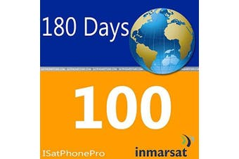 Inmarsat IsatPhone Pro and IsatPhone 2 Prepaid Airtime SIM Card - 100 Units - 180 Days