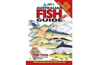 Australian Fish Guide: Concealed Spiral Hard Cover
