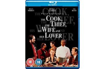 The Cook, the Thief, His Wife and Her Lover [Region B] [Blu-ray]