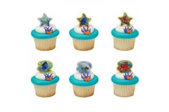 Finding Dory Adventure is Brewing Cupcake Rings - 24 pcs by Bakery Supplies