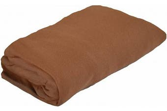 PMP Viscose Derived from Bamboo Fitted Sheet 40 x 80 cm Chocolate