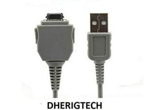 DHERIGTECH® USB DATA CABLE FOR Sony Cyber-Shot DSC-W130, W150, W170 VMC-MD1