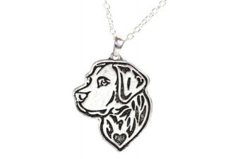 (Labrador Retriever) - Dog Head Necklace - Siberian Husky - Labrador Retriever Pendant - Boxer - Dog Pendants For Pet Lovers
