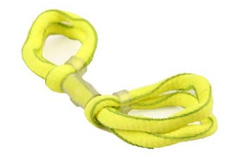 (Yellow / Lime, Single Loop) - ArrowSocks Delux Archery Finger Sling/Bow Sling for use with Recurve or Compound bows