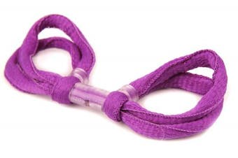 (Purple, Double Loop) - ArrowSocks Delux Archery Finger Sling/Bow Sling for use with Recurve or Compound bows