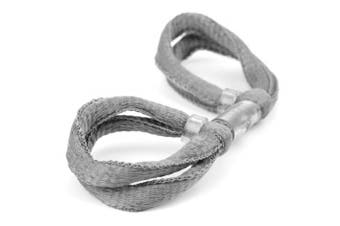 (Battleship Grey, Single Loop) - ArrowSocks Delux Archery Finger Sling/Bow Sling for use with Recurve or Compound bows