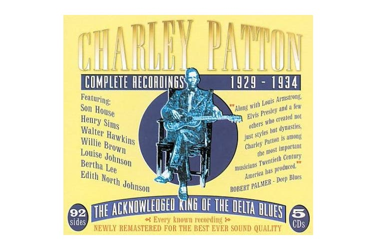 Complete Recordings: 1929-1934 [Box]