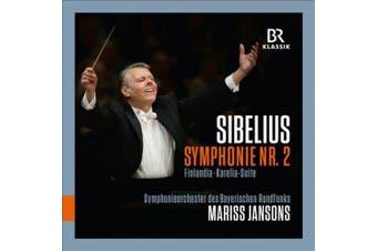 Sibelius: Symphonie Nr. 2; Finlandia; Karelia-Suite