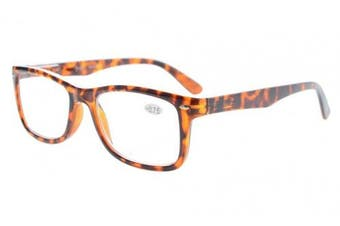 (+1.00, Tortoise) - Eyekepper Readers Spring-Hinges Quality Classic Vintage Style Reading Glasses Tortoise +1.0