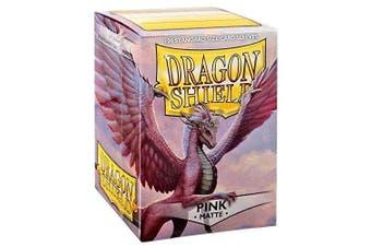 (Pink) - Dragon Shield Sleeves Matte Card Game, Pink