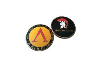 Challenge coin Molon Labe