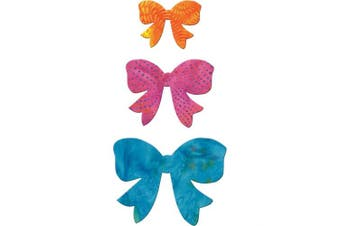 Go! Fabric Cutting Dies-Bow 6.4cm , 8.9cm & 11cm