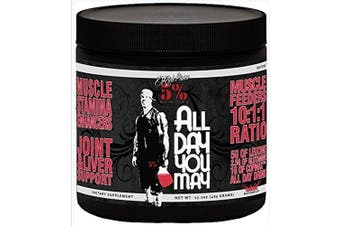 Rich Piana 5% Nutrition ALLDAYYOUMAY Growth and Full Body Recovery / Watermelon 30 Servings, 510ml