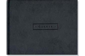 Classic Black Guest Book (Organiser)