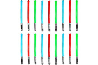 (Quantity 12) - Bulk Buy Offers Inflatable Lightsaber Light Sabre Toy Colour may Vary ... (Quantity 12)
