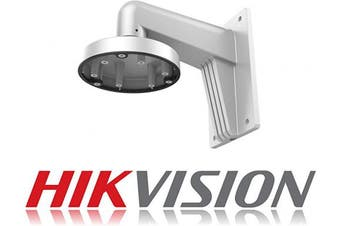 Hikvision Digital Technology DS-1273ZJ-135 Mount - security camera accessories (Mount, Outdoor, Grey, Aluminium, DS-2CC52X1P(N)-AVPIR2, DS-2CC52X1P(N)-VP, DS-2CD27X2-I(S), 136mm)