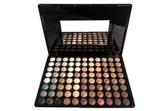 (#1) - FantasyDay Pro 88 Colours Shimmer and Matte Eyeshadow Palette Eye Shadow Makeup Kit Cosmetic Contouring Kit #1