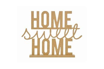 Beyond The Page Mdf Home Sweet Home Standing Words-41cm x 31cm X1.13cm