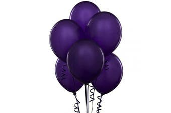 (30cm  Pack of 144, Deep Purple) - Deep Purple 30cm Thickened Latex Balloons, Pack of 144, Premium Helium Quality for Wedding Bridal Baby Shower Birthday Party Decorations Supplies Ballon Baloon Thinken