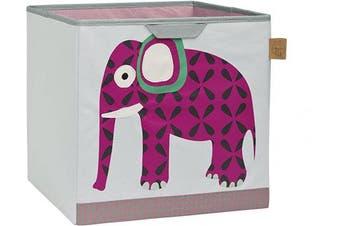 (Wildlife Elephant) - Lassig Toy Cube, Wildlife Elephant