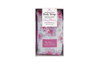 Aroma Home Cherry Blossom Microwaveable Floral Body Wrap