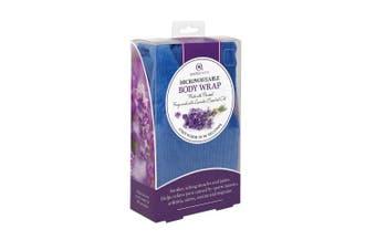 Aroma Home Blue Microwaveable Body Wrap