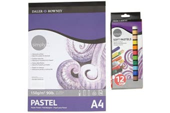 Daler Rowney Simply Pastel A4 Art Set