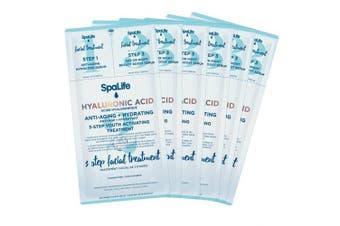 (Hyaluronic Acid) - Spa Life 3 Step Korean Facial Treatment- 6 ct. (Hyaluronic Acid)