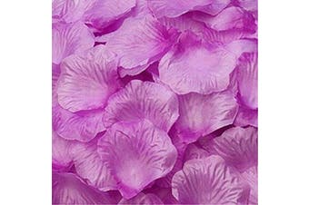 (2000, Warm Purple) - Magik 1000~5000 Pcs Silk Flower Rose Petals Wedding Party Pasty Table Decorations, Various Choices (2000, Warm Purple)