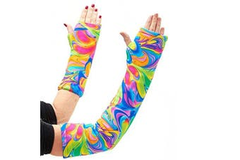 CastCoverz! Armz! Washable and Reusable Cast Cover in Colorcopia - Large Short