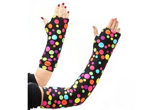 CastCoverz! Armz! Washable and Reusable Cast Cover in Lots Of Dots - Medium Long