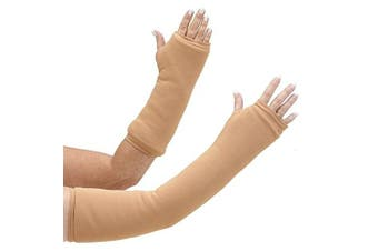 CastCoverz! Armz! Washable and Reusable Cast Cover in Nude - Medium - Large Short